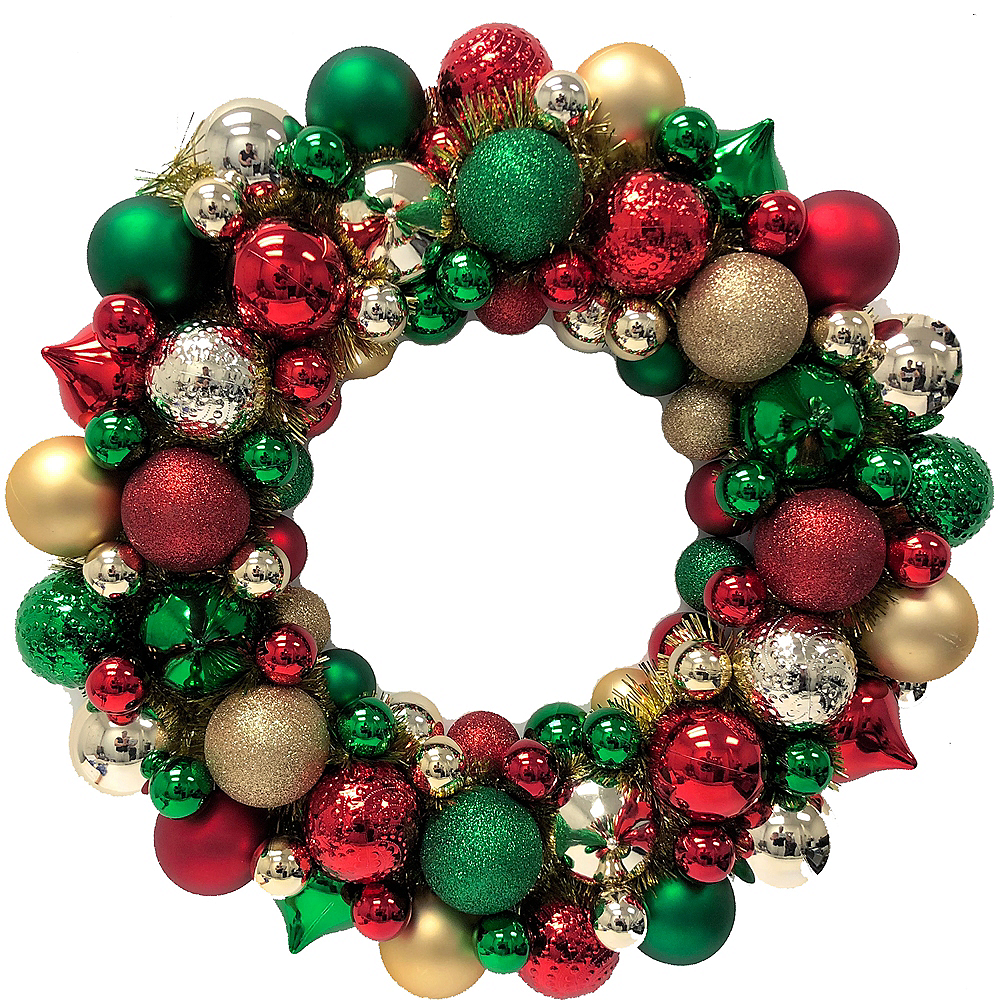 christmas ornament wreath image 1