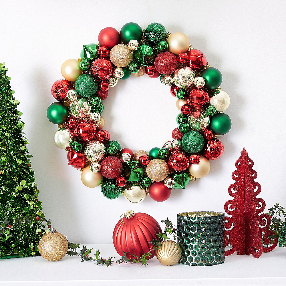 Christmas Ornament Wreath Image #2