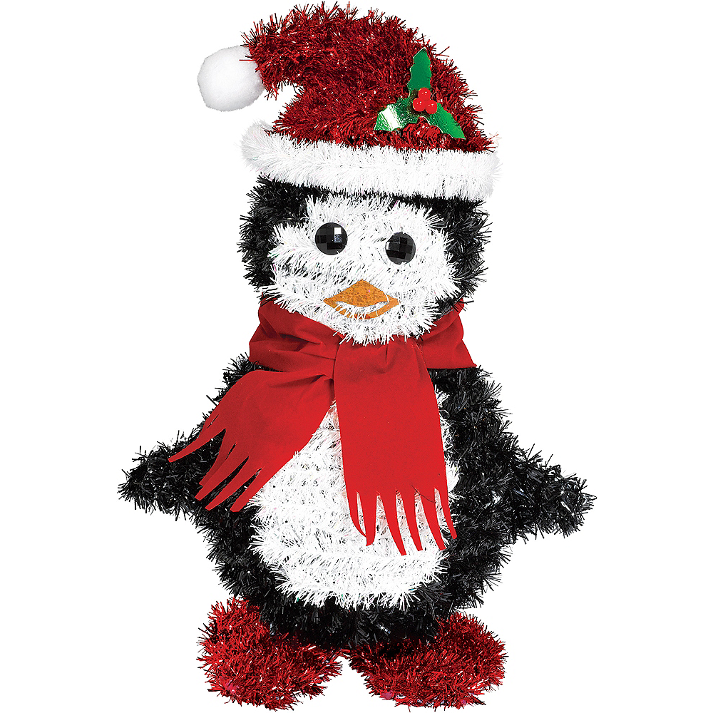 Nav Item for Tinsel Penguin Santa Image #1