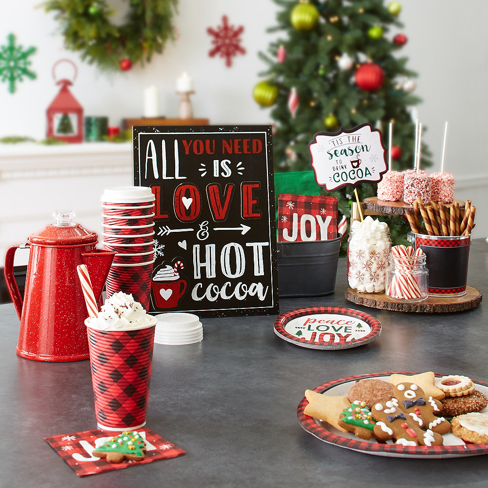 Love & Hot Cocoa Easel Sign Image #2