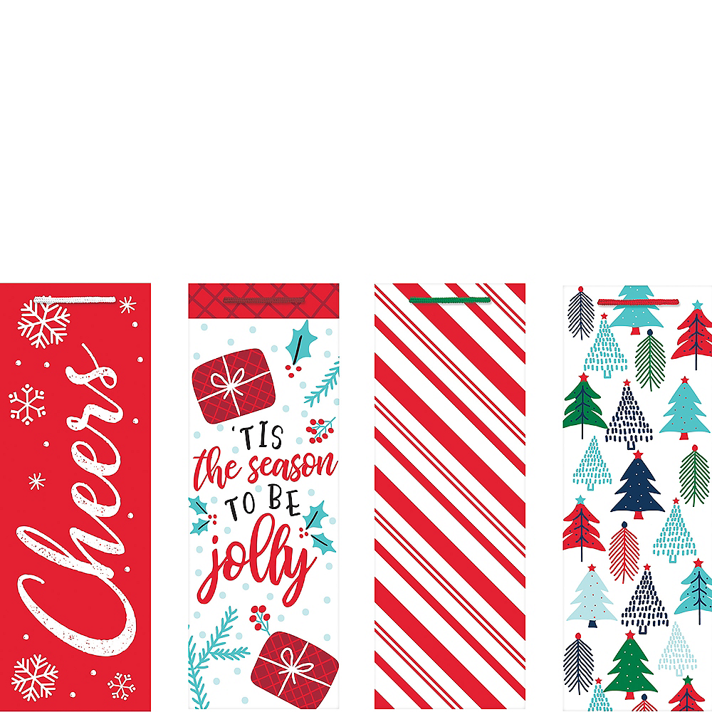 Jolly Season Bottle Bags 4ct Image #1