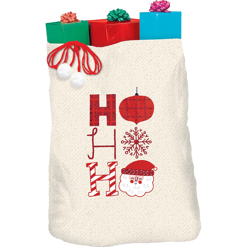 Hohoho Canvas Gift Sack Image #1