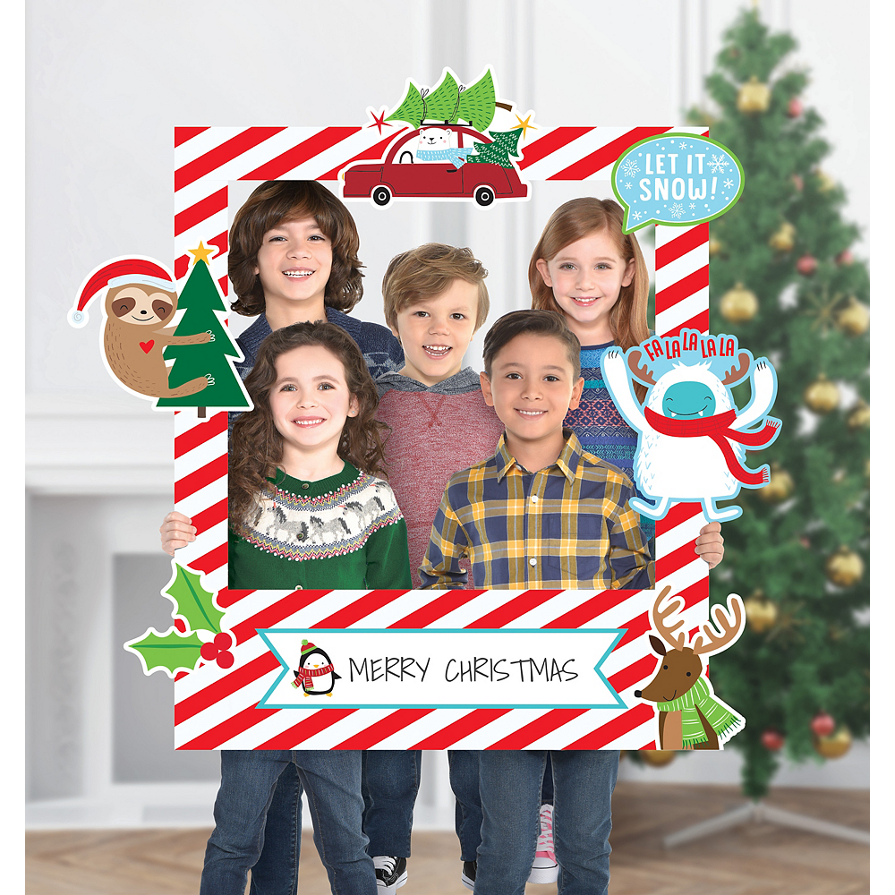 Giant Customizable Christmas Photo Frame Kit Image #1