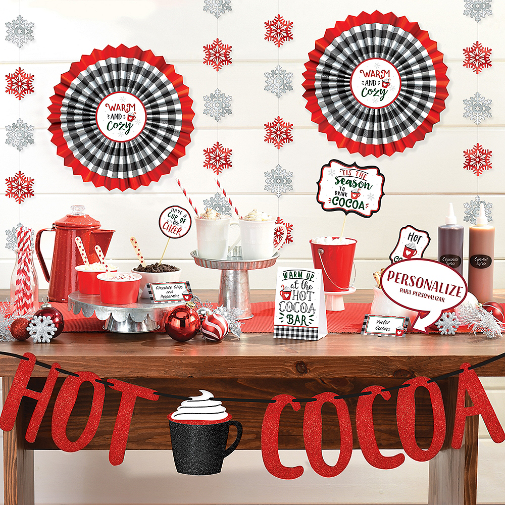 Hot Cocoa Bar Decorating Kit 23pc Image #2
