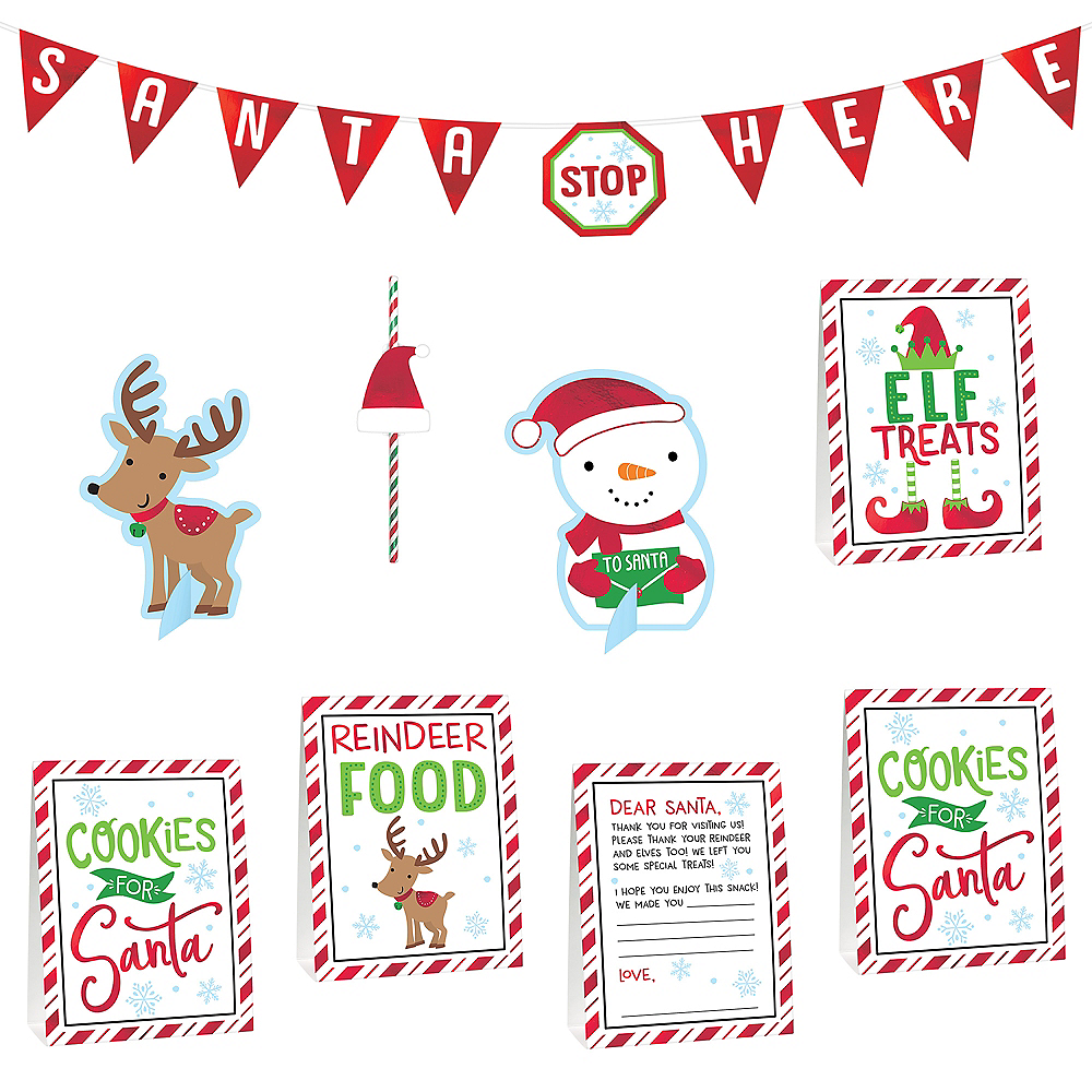 Nav Item for Cookies for Santa Decorating Kit 8pc Image #1
