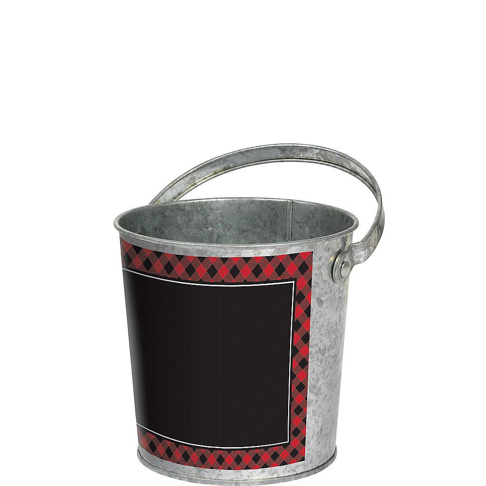 Cozy Holiday Galvanized Bucket Image #1