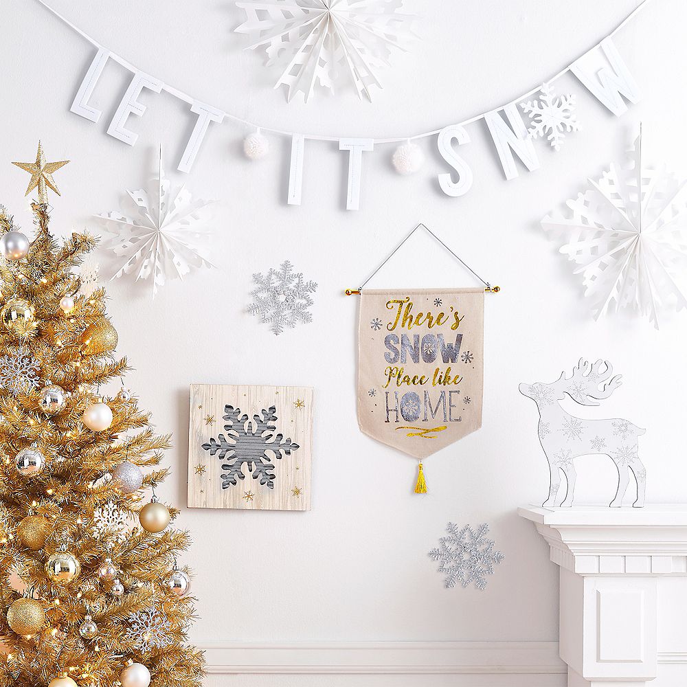 Let It Snow Letter Banner Image #2