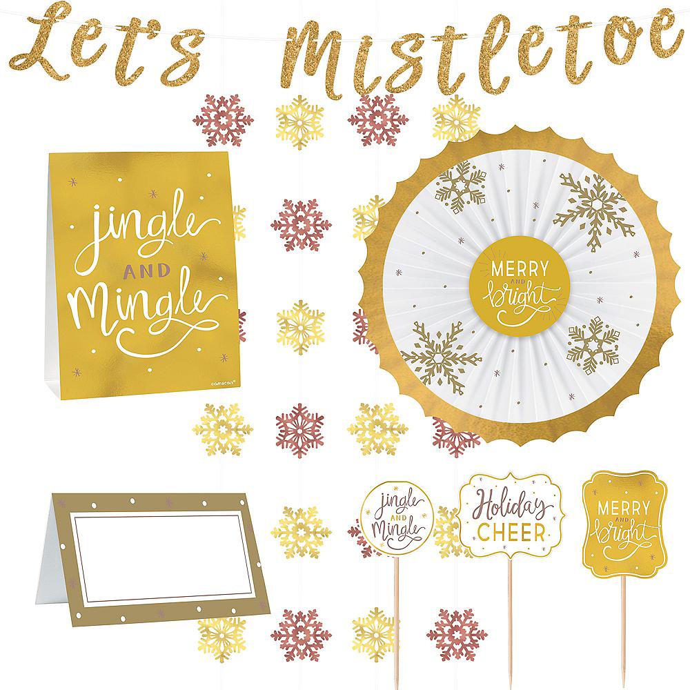 Let's Mistletoe Buffet Decorating Kit 23pc Image #1