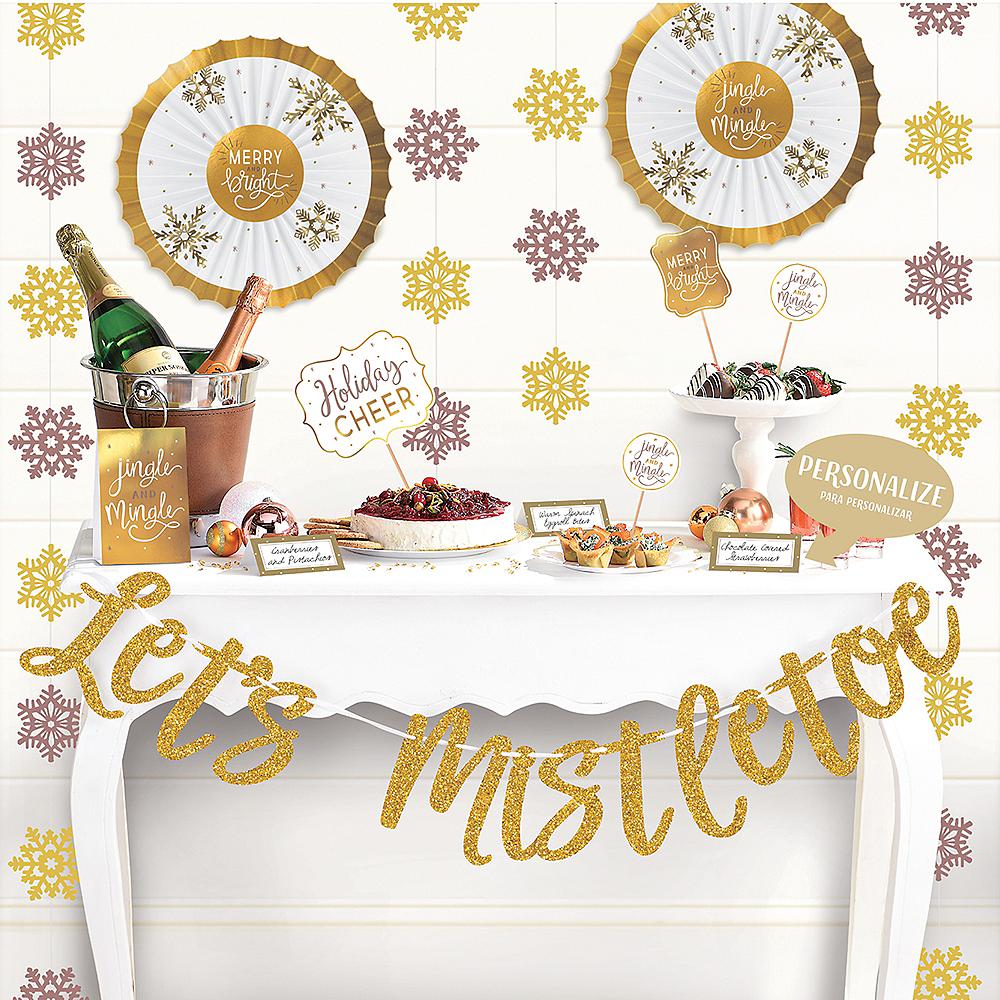 Let's Mistletoe Buffet Decorating Kit 23pc Image #2