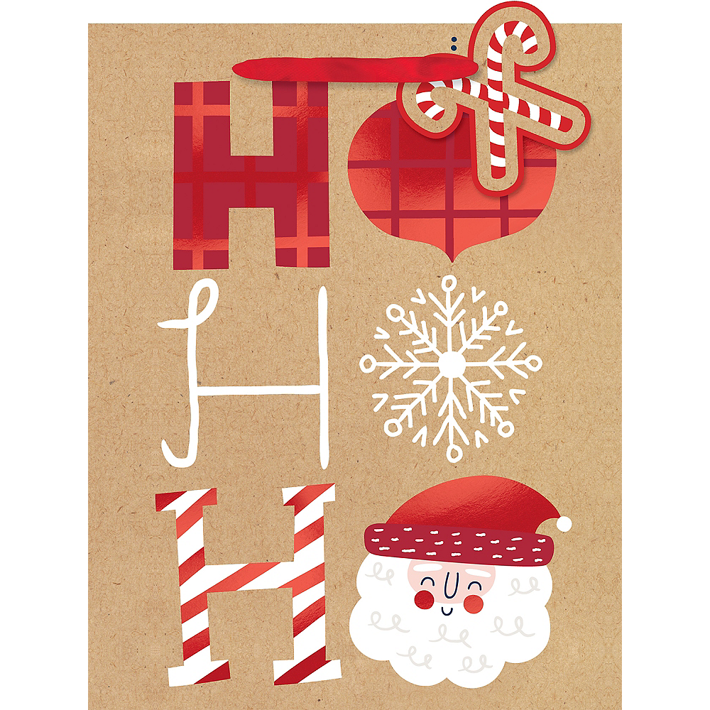 Nav Item for Kraft Hohoho Gift Bag Image #1