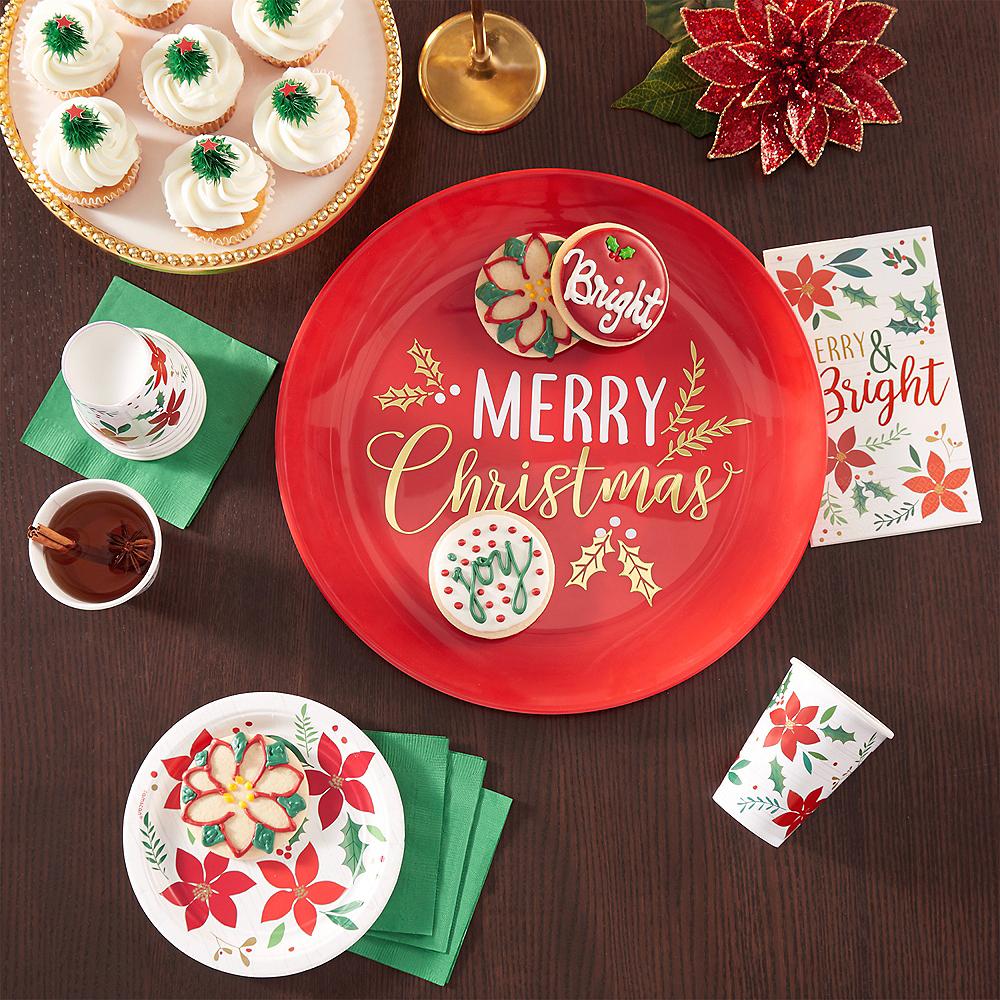 Metallic Merry Christmas Serving Tray Image #2