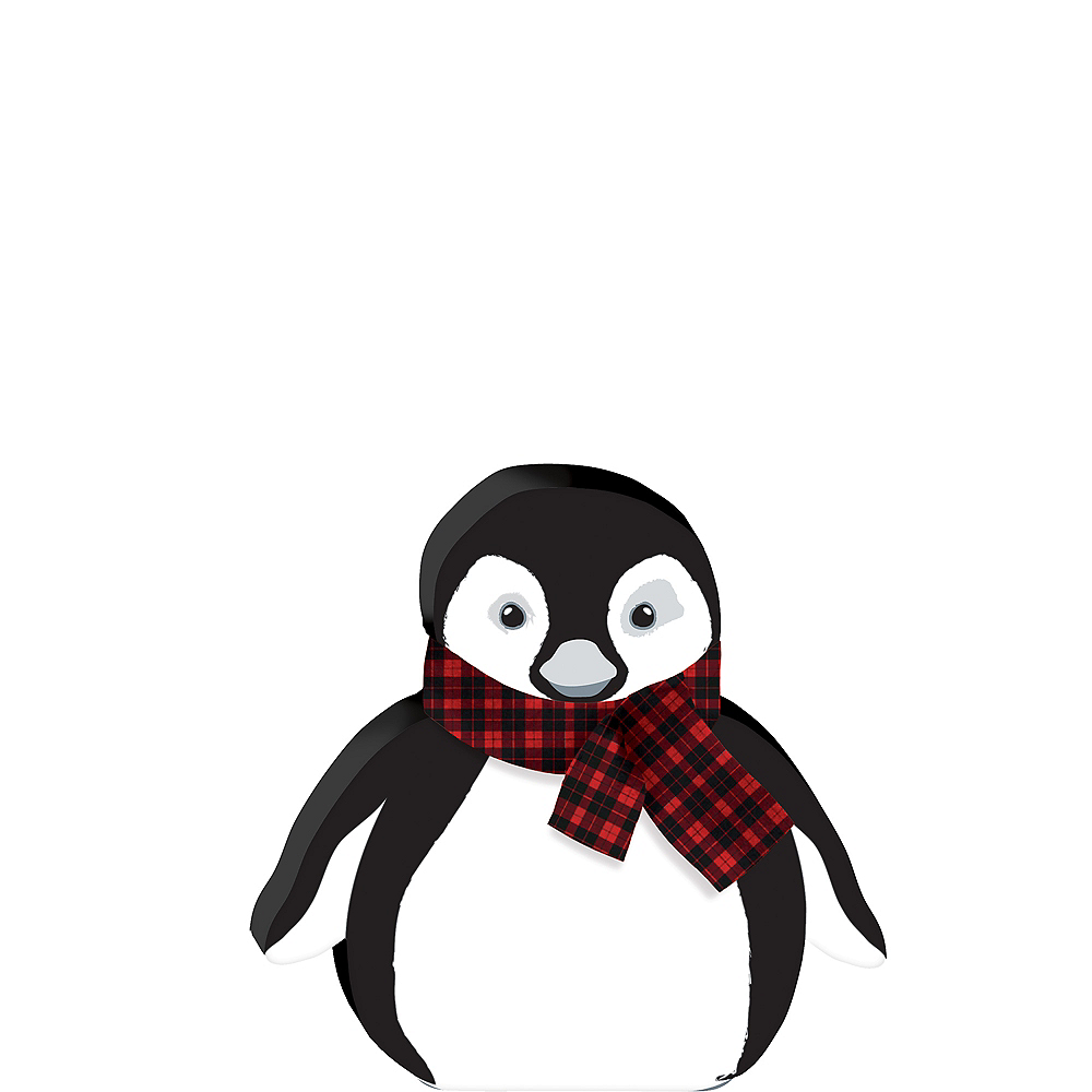 Penguin Christmas Sign Image #1