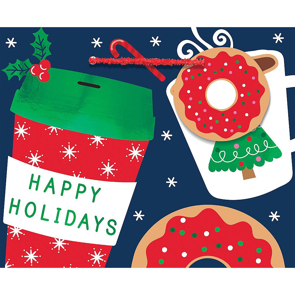 Mini Coffee & Donuts Holiday Gift Bag Image #1