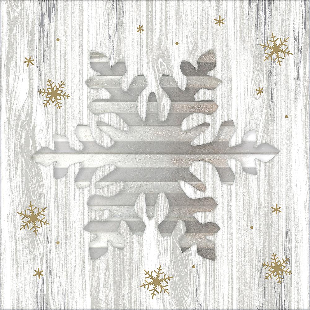 Snowflake Easel Sign Image #1