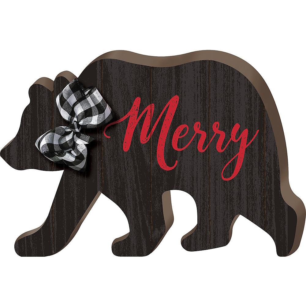 Merry Bear Sign Image #1