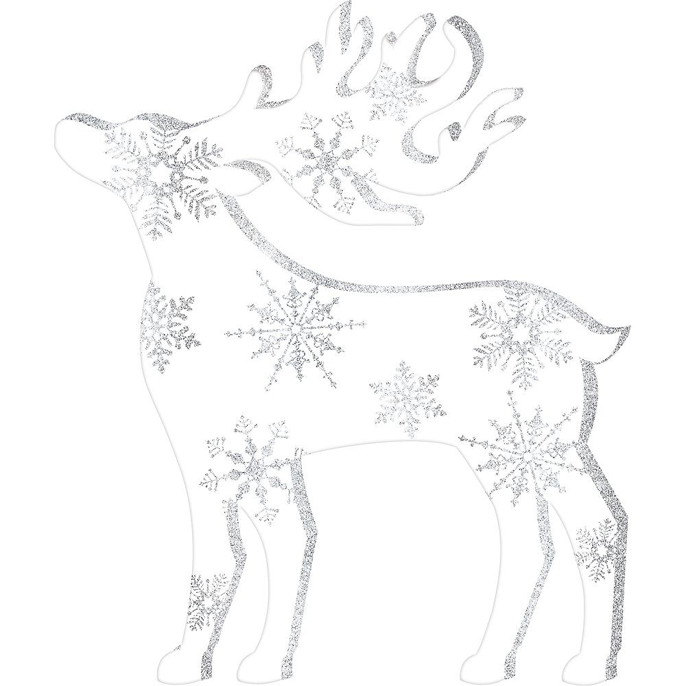 Glitter Reindeer Sign Image #1