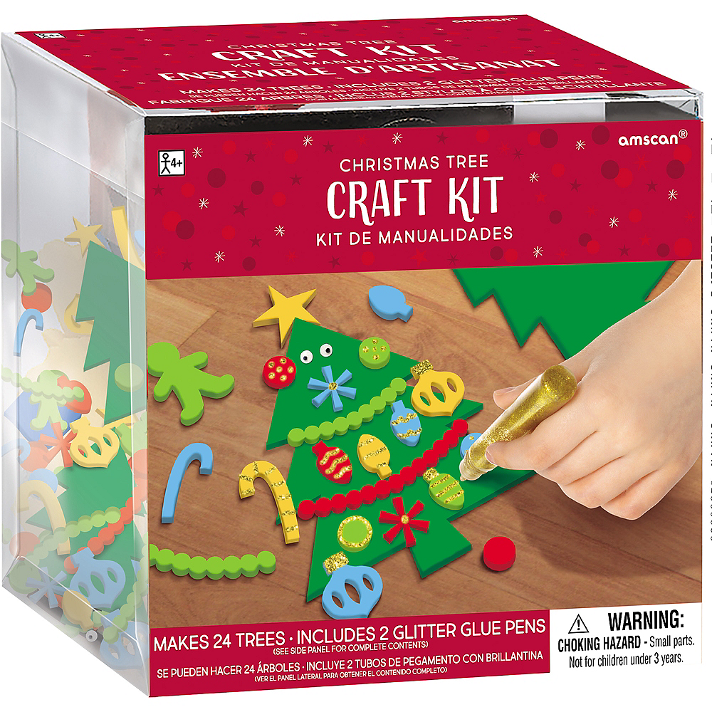 Christmas Tree Craft Kit Image #1