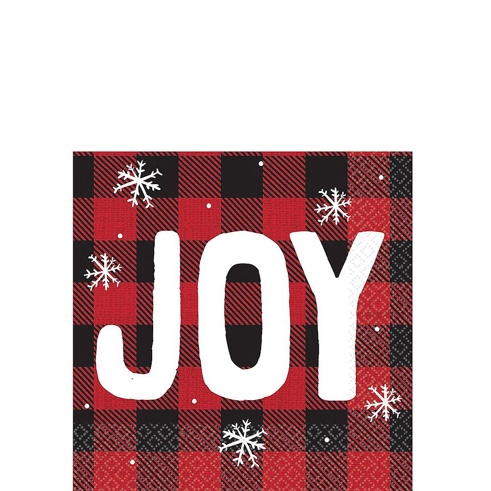 Cozy Holiday Joy Beverage Napkins 16ct Image #1