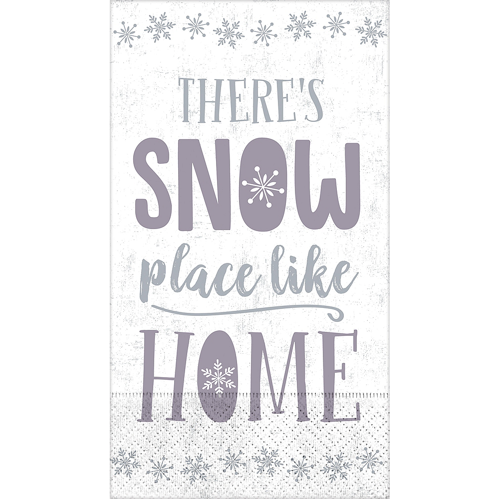 Snow Place Like Home Guest Towels 36ct Image #1