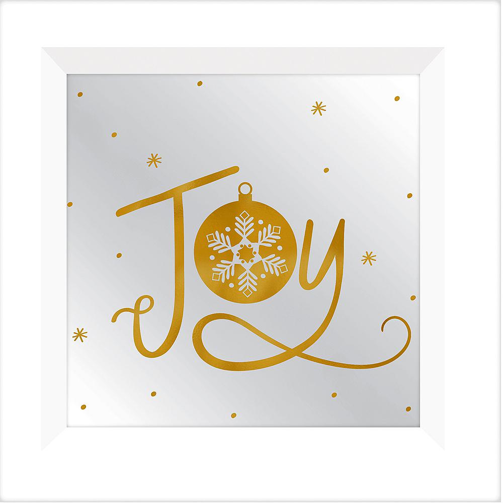 Joy Christmas Mirror Sign Image #1