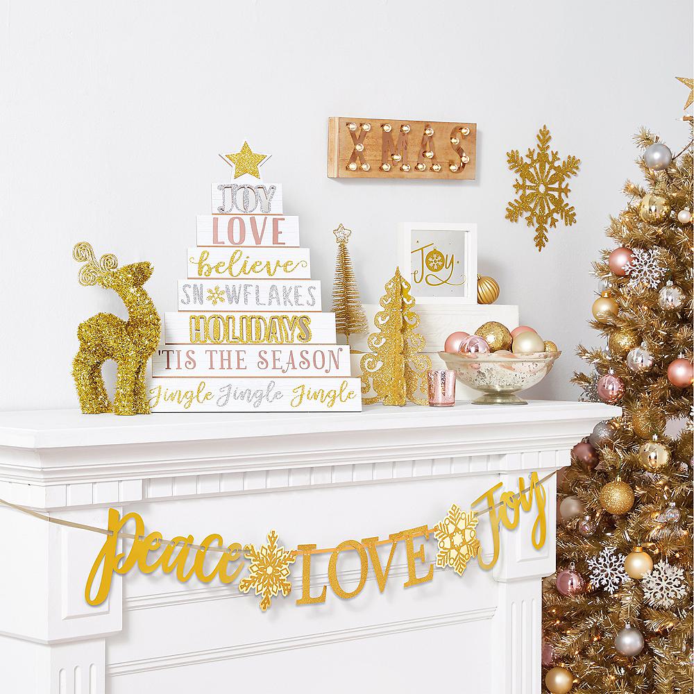 Joy Christmas Mirror Sign Image #2