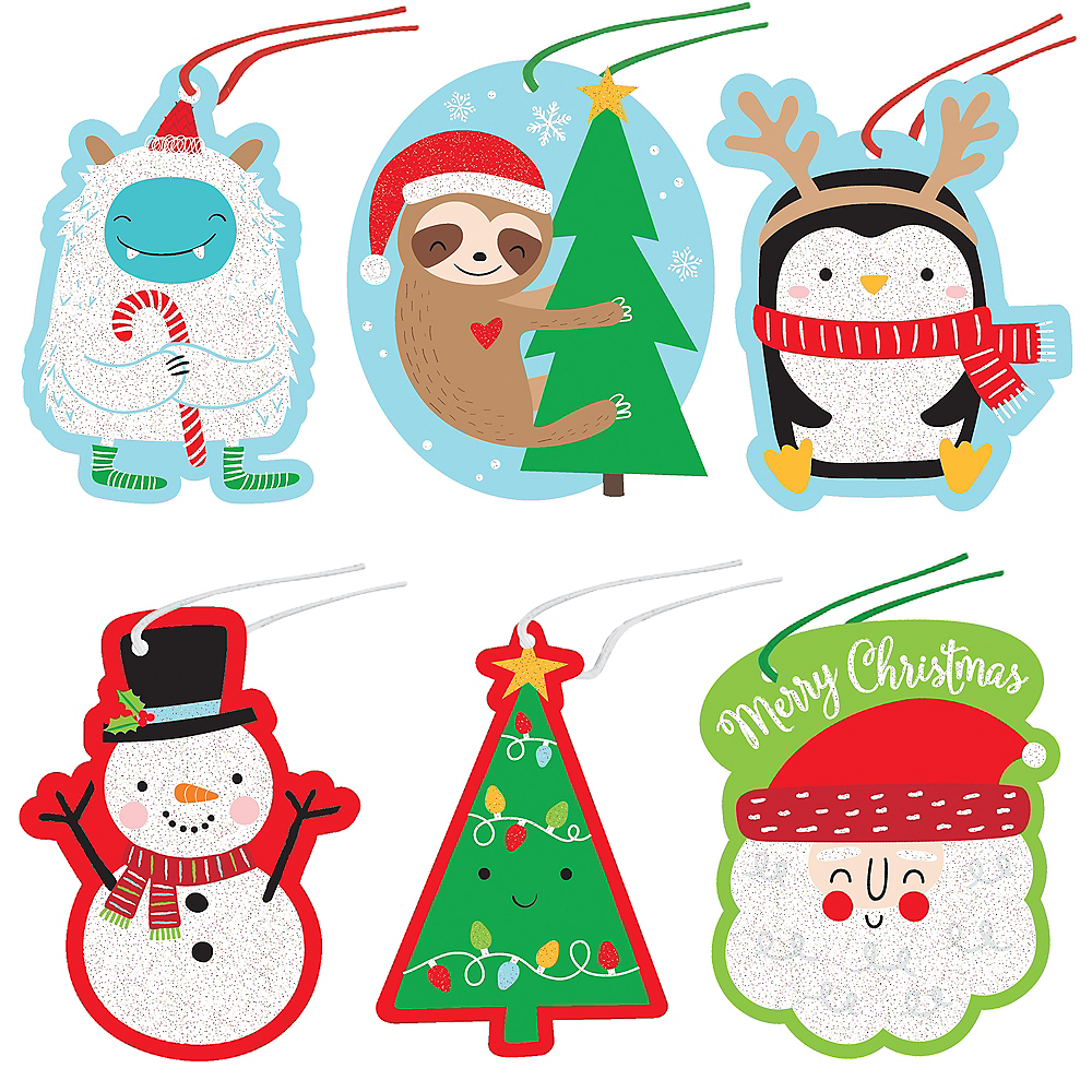 Nav Item for Santa & Friends Christmas Gift Tags 36ct Image #1