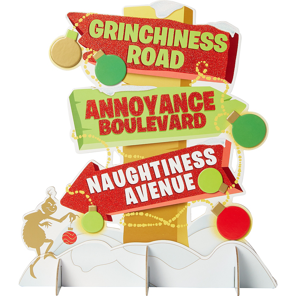 The Grinch Centerpiece Image #1