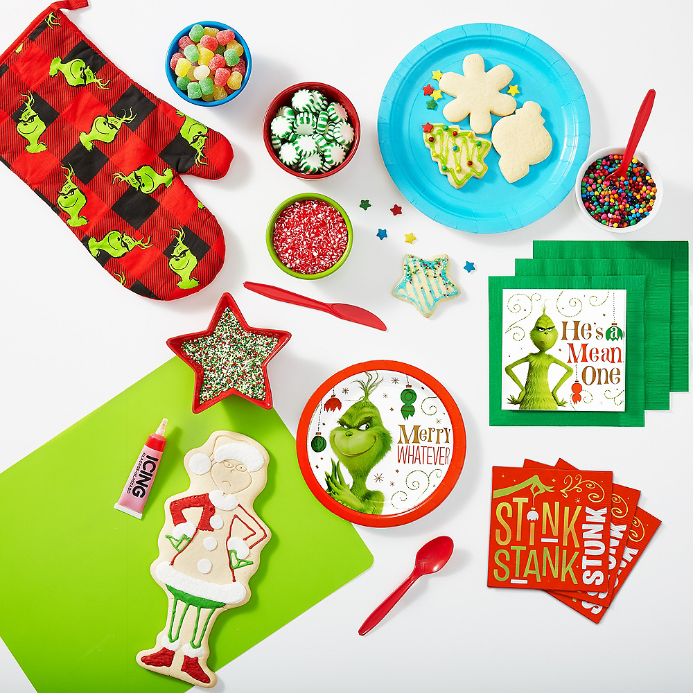 Grinch He's a Mean One Beverage Napkins 16ct Image #2