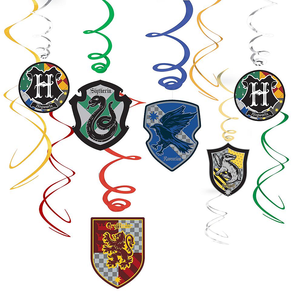 Harry Potter Swirl Decorations 12ct Image #1