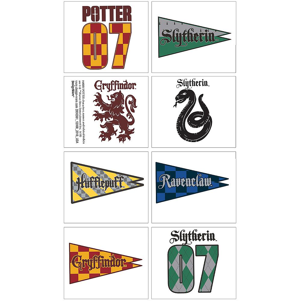 Harry Potter House Tattoos 1 Sheet Image #1