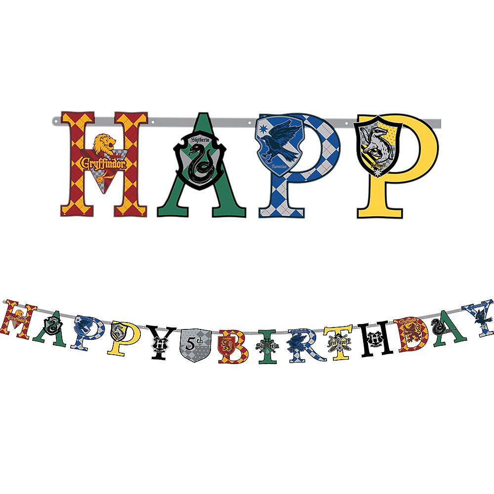 Harry Potter Birthday Banner Kit Image #1