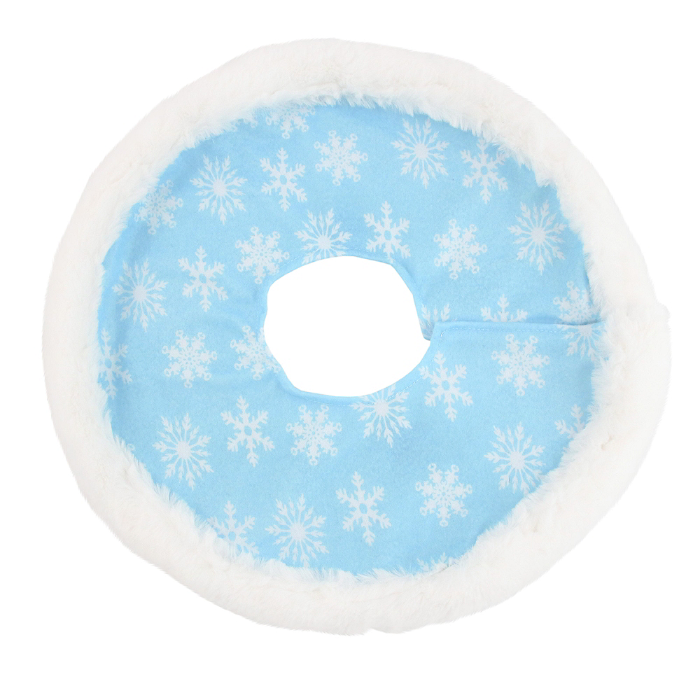 Icy Snowflake Tree Skirt Image #1