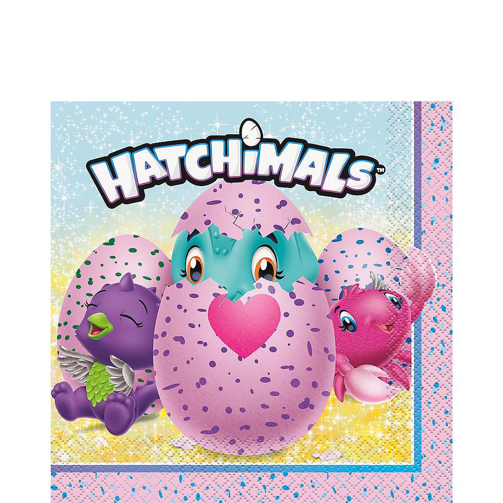 Hatchimals Lunch Napkins 16ct Image #1
