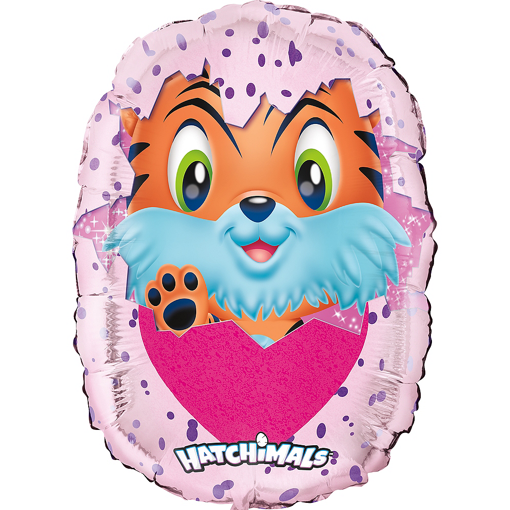 Nav Item for Giant Hatchimals Balloon, 34in Image #1