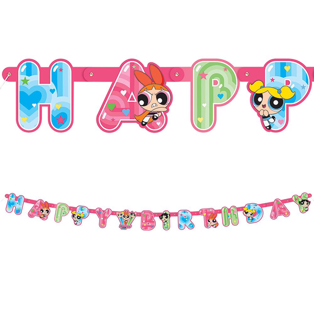 The Powerpuff Girls Birthday Banner Image #1
