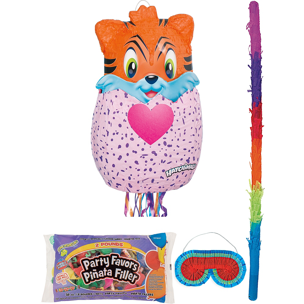 Hatchimals Hatching Egg Pinata Kit with Candy & Favors Image #1
