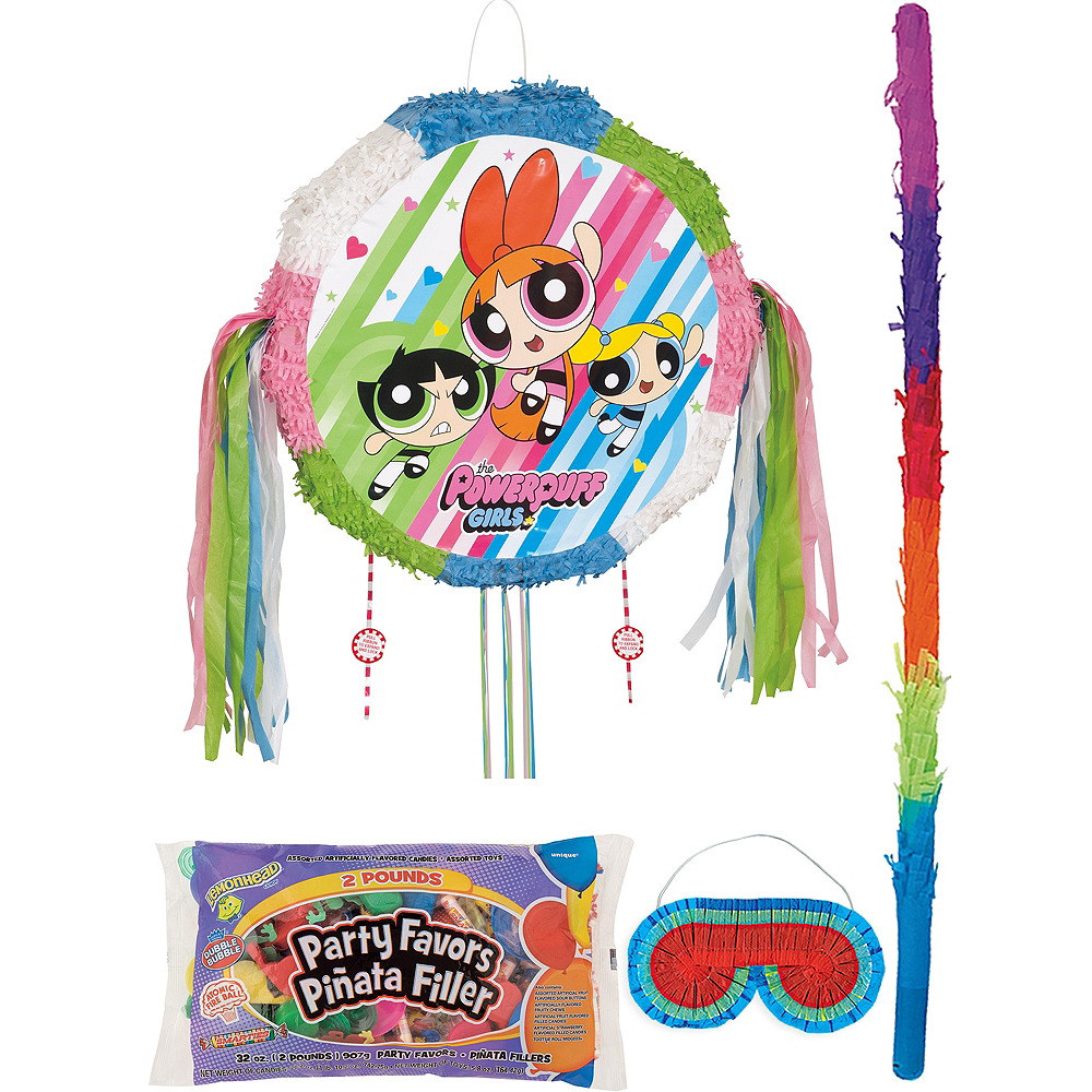 The Powerpuff Girls Pinata Kit with Candy & Favors Image #1