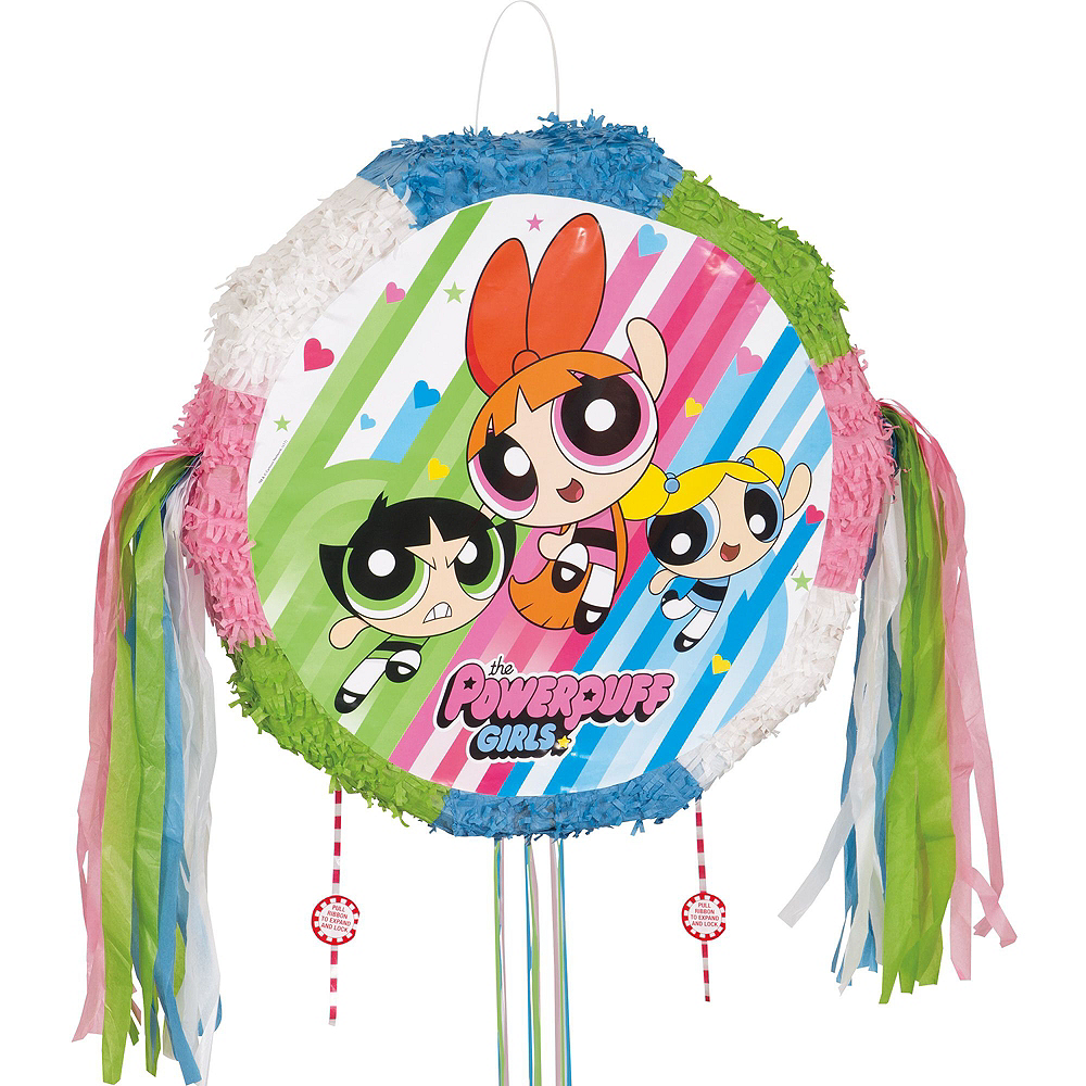 The Powerpuff Girls Pinata Kit with Candy & Favors Image #2