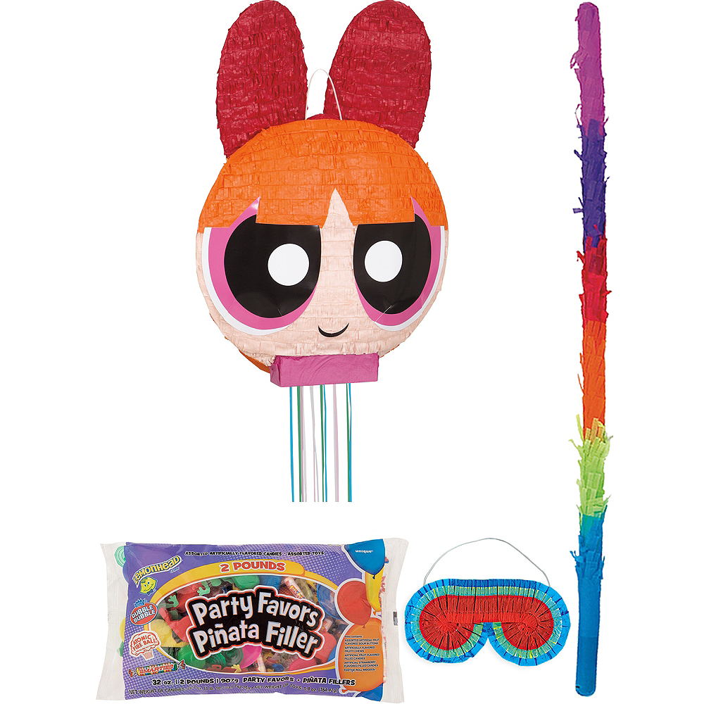 Blossom Pinata Kit with Candy & Favors - The Powerpuff Girls Image #1