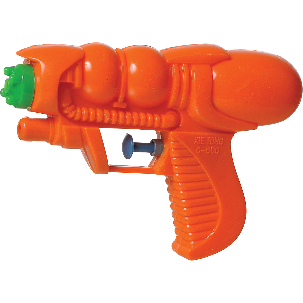 Small Orange & Green Water Blaster Image #1