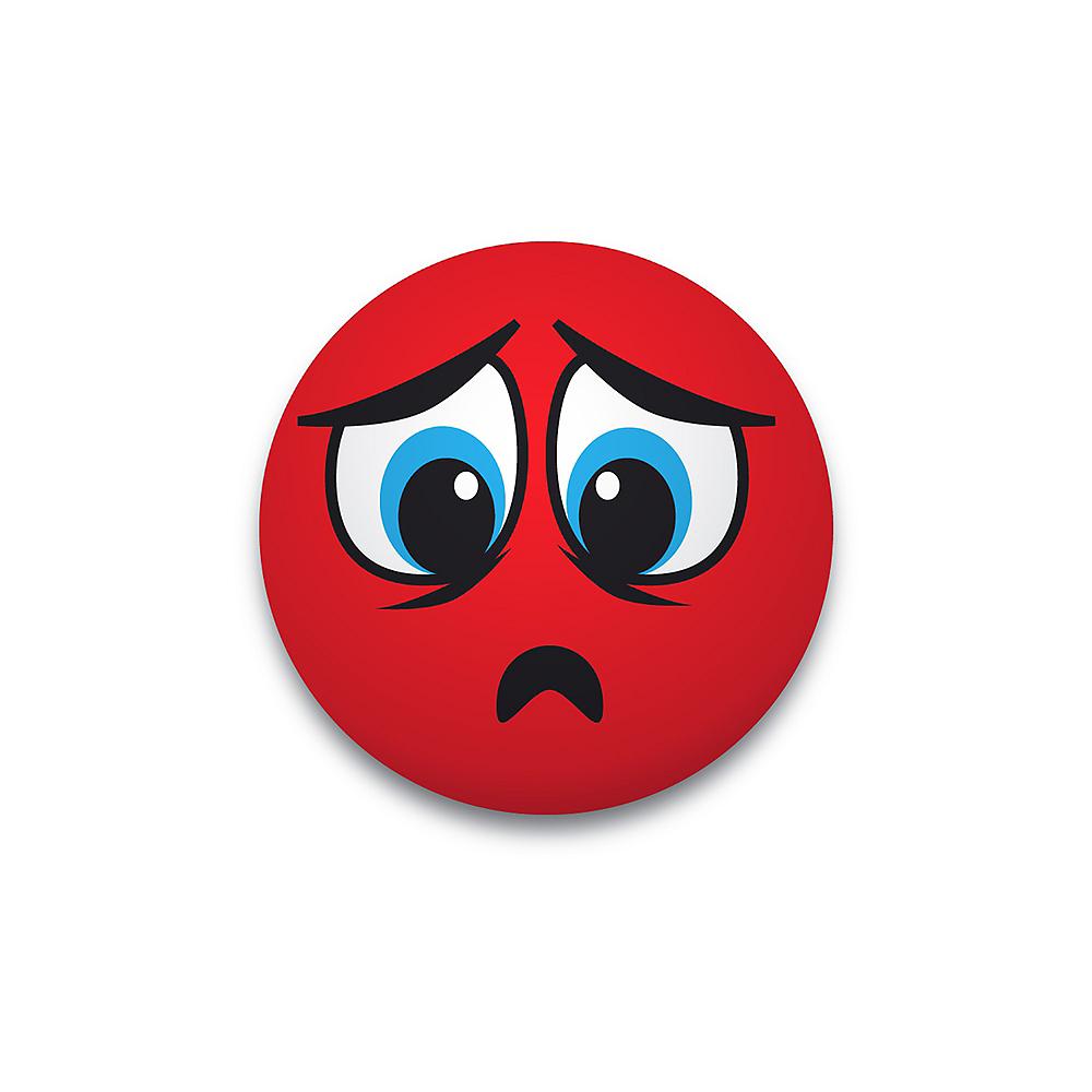 Sad Smiley Splat Ball