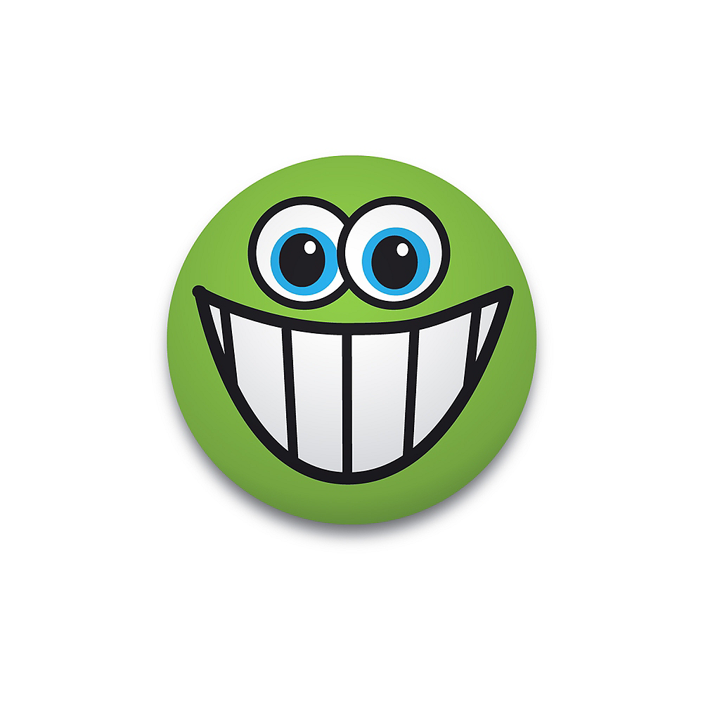 Green Smiley Splat Ball Image #1