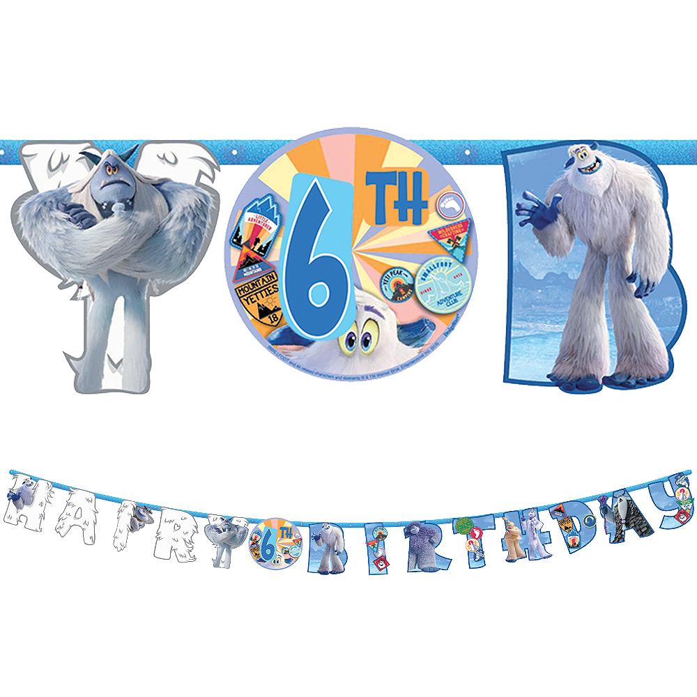 Smallfoot Birthday Banner Kit Image #1