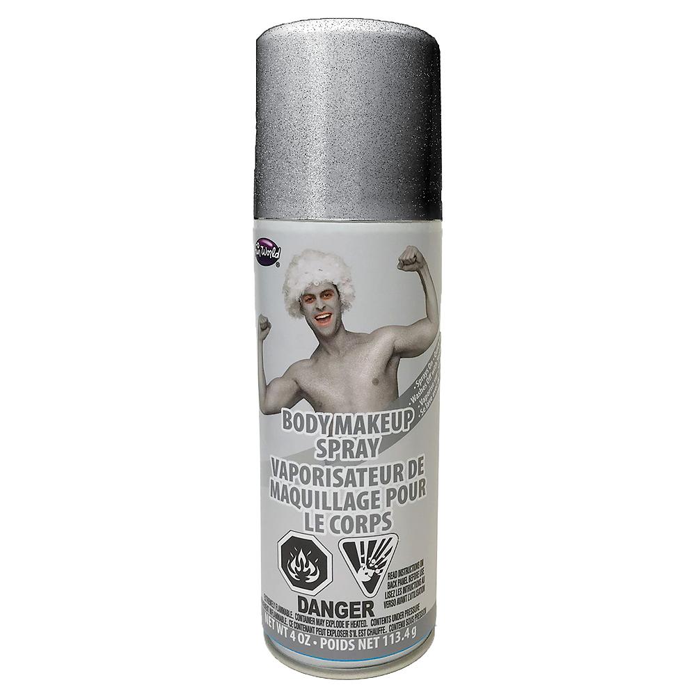Silver Body Makeup Spray Image #1