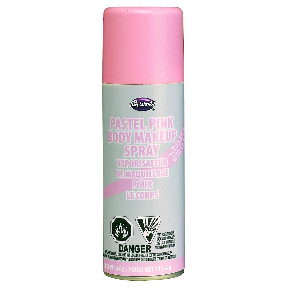 Pastel Pink Body Makeup Spray Image #1