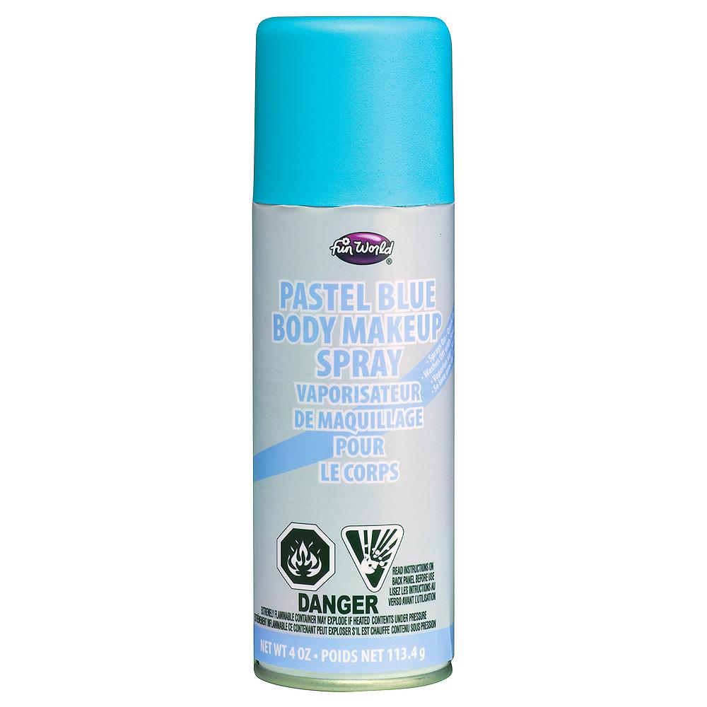 Pastel Blue Body Makeup Spray Image #1
