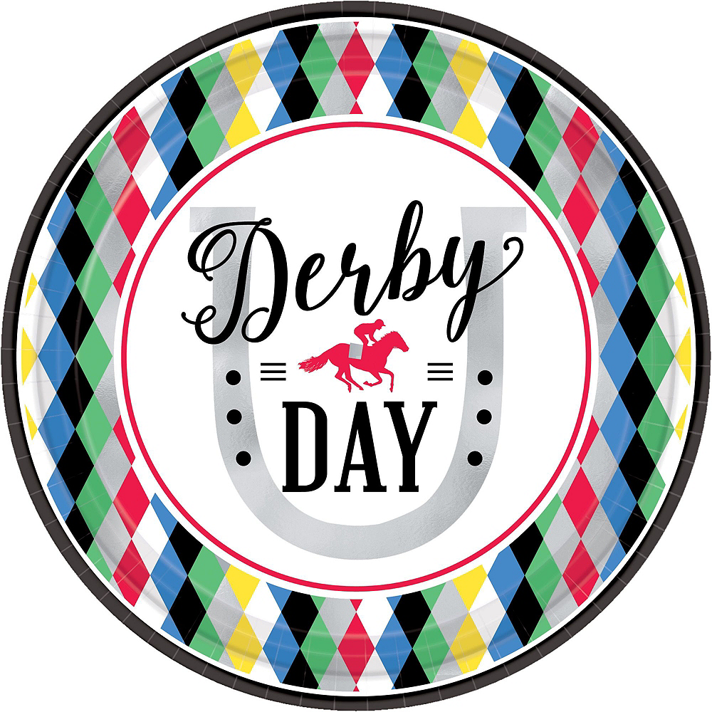 Kentucky Derby Tableware Kit for 8 Guests Image #3