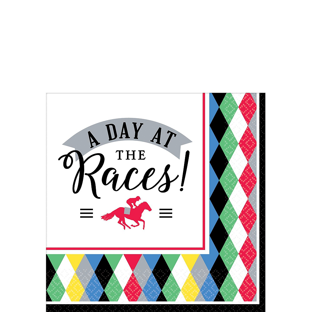 Kentucky Derby Tableware Kit for 8 Guests Image #4