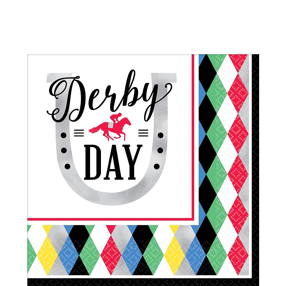 Kentucky Derby Tableware Kit for 8 Guests Image #5