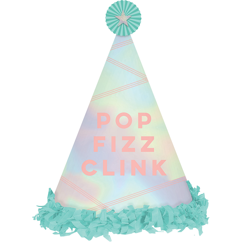 Pop Fizz Clink Party Hat Image #1